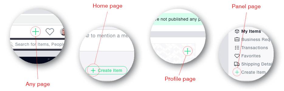 Create Item